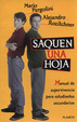 Cover of Saquen una hoja