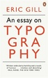 Cover of An Essay on Typography