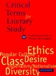 Cover of Critical Terms for Literary Study