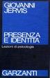 Cover of Presenza e identità