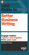 Cover of HBR Guide to Better Business Writing
