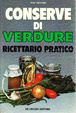 Cover of Conserve di verdure