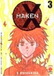 Cover of MAKEN X Vol. 3