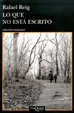 Cover of Lo que no está escrito