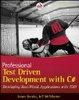 Cover of Professional Test Driven Development with C#