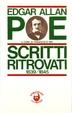Cover of Scritti ritrovati 1839-1845