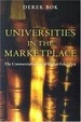 Cover of Universities in the Marketplace