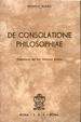 Cover of De consolatione philosophiae