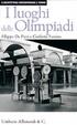 Cover of I luoghi delle Olimpiadi
