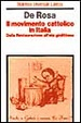 Cover of Il movimento cattolico in Italia