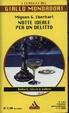 Cover of Notte ideale per un delitto
