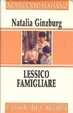 Cover of Lessico famigliare