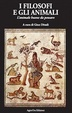 Cover of I filosofi e gli animali