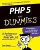 Cover of PHP 5 for Dummies