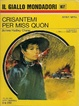 Cover of Crisantemi per Miss Quon