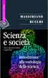 Cover of Scienza e società