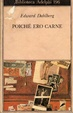 Cover of Poiché ero carne