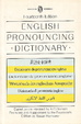 Cover of Everyman's English pronouncing dictionary