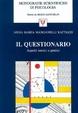 Cover of Il questionario: aspetti teorici e pratici