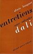 Cover of Entretiens avec Salvador Dalí
