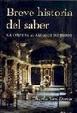 Cover of Breve historia del saber