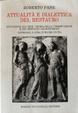 Cover of Attualità e dialettica del restauro