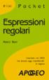 Cover of Espressioni regolari