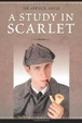 Cover of A study in scarlet