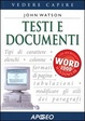 Cover of Testi e documenti
