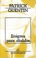 Cover of Enigma para Diablos