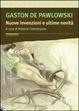 Cover of Nuove invenzioni e ultime novità