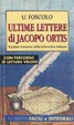 Cover of Ultime lettere di Jacopo Ortis