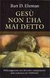 Cover of Gesù non l'ha mai detto