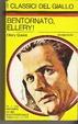 Cover of Bentornato, Ellery!