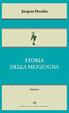 Cover of Storia della menzogna