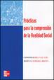 Cover of Prácticas para la comprensión de la realidad social
