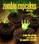 Cover of Zombie Cupcakes. Zilly Rosen