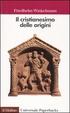 Cover of Il cristianesimo delle origini