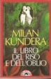 Cover of Il libro del riso e dell'oblio