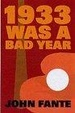Cover of 1933 Was a Bad Year