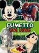 Cover of Fumetto on line. Guida ai migliori siti Internet