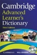 Cover of Cambridge Advanced Learner's Dictionary with CD-ROM