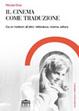 Cover of Il cinema come traduzione