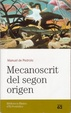 Cover of Mecanoscrit del segon origen