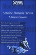 Cover of Manon Lescaut