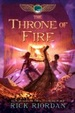Cover of The Kane Chronicles, The, Book Two: Throne of Fire