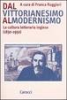 Cover of Dal vittorianesimo al modernismo