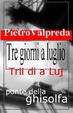 Cover of Tre giorni a luglio - Trii dì a Luj
