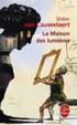 """Cover of """"La"""" maison des lumières"""