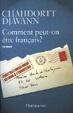 Cover of Comment peut-on etre francais?
